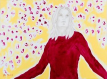 Spring II, oil on canvas, 81 x 61 cm, 2017