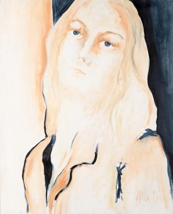 Making sense # 11, oil on canvas, 100 x 81 cm, 2019