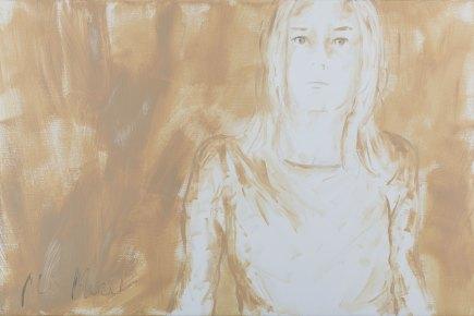 Making sense #4, oil on canvas, 81 x 54 cm, 2018