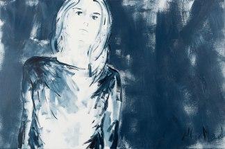 Making sense #5, oil on canvas, 81 x 54 cm, -2018