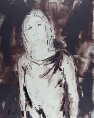 Making sense #7, oil on canvas, 92 x 73 cm, 2018