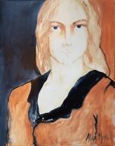 Making Sense # 13, oil on canvas 92 x 73 cm, 2019