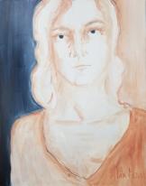 Making Sense # 14, oil on canvas 92 x 73 cm, 2019