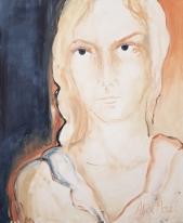 Making Sense #15, oil on canvas, 73 x 60 cm, 2019