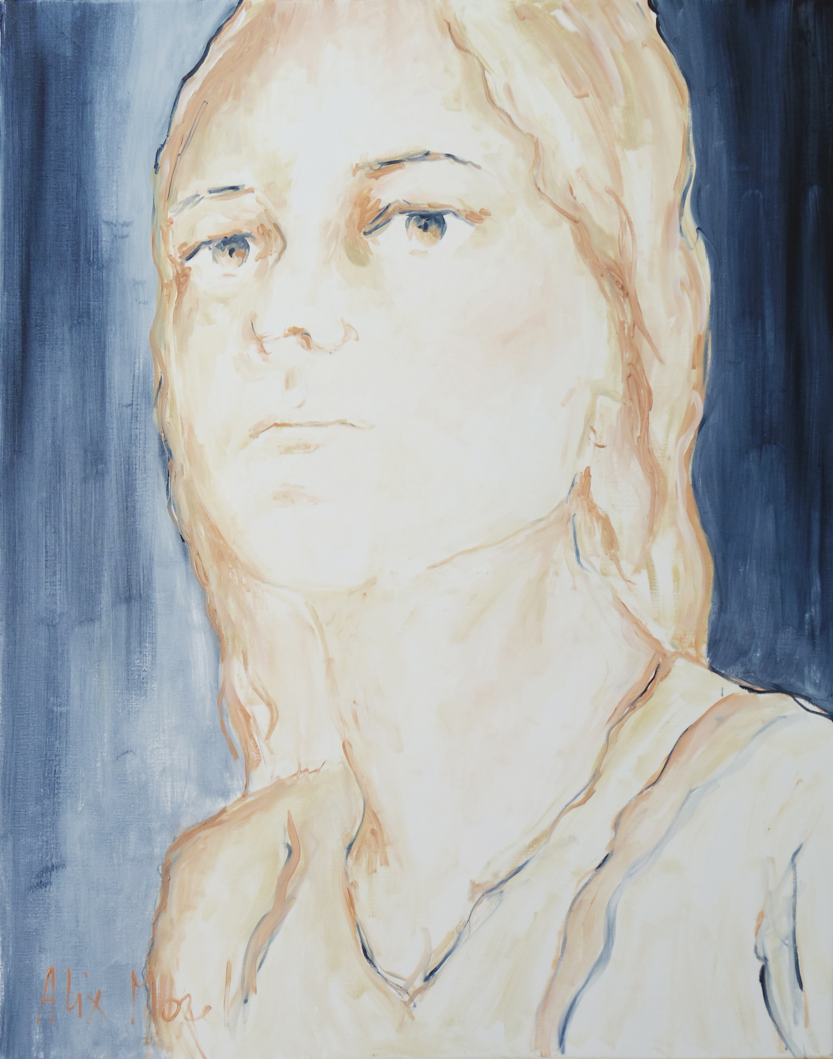 Making sense #15, oil on canvas, 92 x 73 cm, 2020